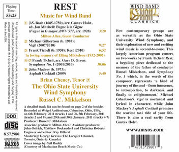 Rest. Opere per fiati - CD Audio di Gustav Holst - 2