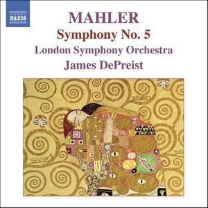 Sinfonia n.5 - CD Audio di Gustav Mahler,London Symphony Orchestra,James DePreist