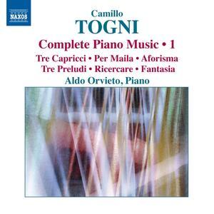 Opere per pianoforte vol.1 - CD Audio di Camillo Togni