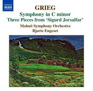 Sinfonia in Do minore - 3 Pezzi da Sigurd Jorsalfar - CD Audio di Edvard Grieg