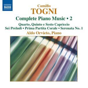 Opere per pianoforte vol.2 - CD Audio di Camillo Togni