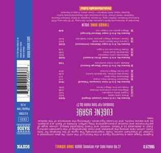 Sonate per violino solo op.27 - CD Audio di Eugene-Auguste Ysaÿe - 2