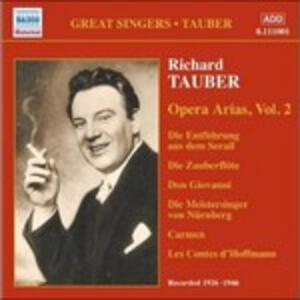 Opera Arias vol.2 - CD Audio di Richard Tauber