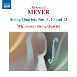 Quartetti per archi vol.3 - CD Audio di Krzysztof Meyer