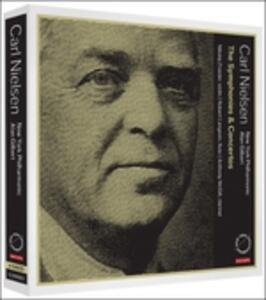 Sinfonie - Concerti - SuperAudio CD ibrido di Carl August Nielsen