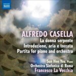Frammenti Orchestrali da La Donna Serpente Op.50 - CD Audio di Alfredo Casella