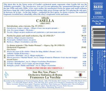 Frammenti Orchestrali da La Donna Serpente Op.50 - CD Audio di Alfredo Casella - 2