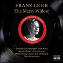 La vedova allegra (Die Lustige Witwe) - CD Audio di Nicolai Gedda,Elisabeth Schwarzkopf,Erich Kunz,Franz Lehàr,Philharmonia Orchestra,Otto Ackermann