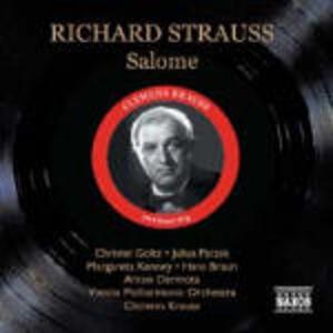Salomé - CD Audio di Richard Strauss,Wiener Philharmoniker,Anton Dermota,Christel Goltz,Margareta Kenney,Clemens Krauss