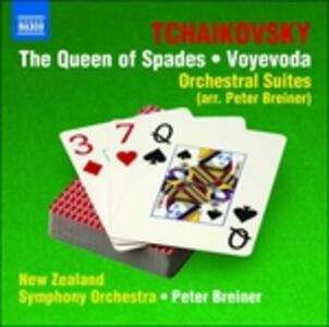 Queen Of Spades-Voyevoda - CD Audio di Pyotr Il'yich Tchaikovsky