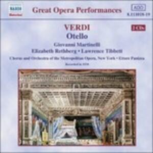 Otello - CD Audio di Giuseppe Verdi,Metropolitan Orchestra,Giovanni Martinelli,Ettore Panizza
