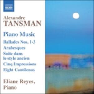 Opere per pianoforte - CD Audio di Alexandre Tansman