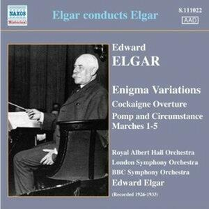 Cockaigne Ouverture - Variazioni Enigma - Pomp and Circumstance - CD Audio di Edward Elgar,London Symphony Orchestra,BBC Symphony Orchestra,Royal Albert Hall Orchestra