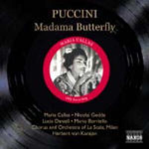 Madama Butterfly - CD Audio di Maria Callas,Nicolai Gedda,Giacomo Puccini,Herbert Von Karajan,Orchestra del Teatro alla Scala di Milano