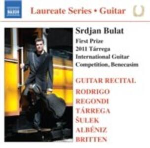 Laureate Series - Srdjan Bulat Guitar Recital - CD Audio