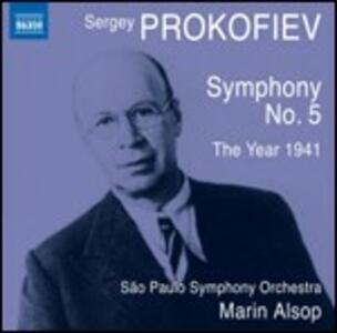 Sinfonia n.5 - L'anno 1941 - CD Audio di Sergej Sergeevic Prokofiev,Marin Alsop,Sao Paulo Symphony Orchestra