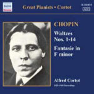Valzer nn.11-14 - Fantasia op.49 - CD Audio di Fryderyk Franciszek Chopin,Alfred Cortot