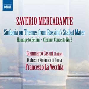 Musica orchestrale - CD Audio di Saverio Mercadante,Francesco La Vecchia,Orchestra Sinfonica di Roma