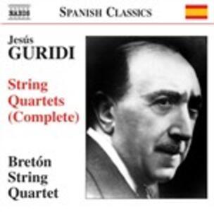 Quartetti per archi - CD Audio di Jesus Guridi