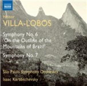 Symphony No.6 - CD Audio di Heitor Villa-Lobos
