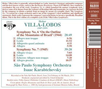 Symphony No.6 - CD Audio di Heitor Villa-Lobos - 2