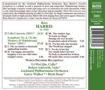 Opere orchestrali - CD Audio di Ross Harris - 2