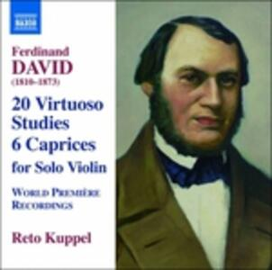 Opere per violino solo - CD Audio di Ferdinand David