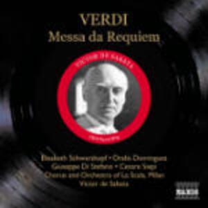 Messa da Requiem - CD Audio di Giuseppe Verdi,Giuseppe Di Stefano,Elisabeth Schwarzkopf,Cesare Siepi,Oralia Dominguez,Victor De Sabata,Orchestra del Teatro alla Scala di Milano