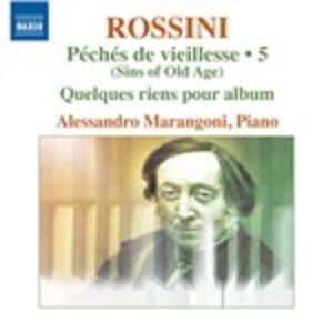 Opere per pianoforte vol.5 - CD Audio di Gioachino Rossini