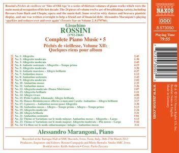 Opere per pianoforte vol.5 - CD Audio di Gioachino Rossini - 2