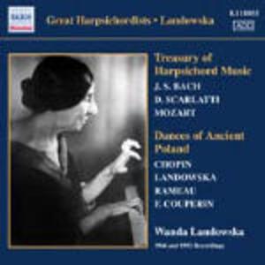 Dances of Ancient Poland - CD Audio di Wanda Landowska
