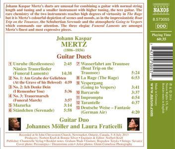 Duetti per chitarre - CD Audio di Johann Kaspar Mertz - 2