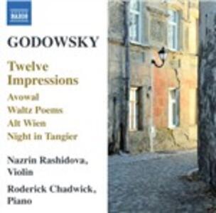 Musica per violino e orchestra - CD Audio di Leopold Godowsky