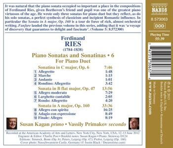 Sonate e sonatine per 2 pianoforti - CD Audio di Ferdinand Ries - 2
