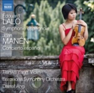 Symphonie éspagnole op.67 - CD Audio di Edouard Lalo