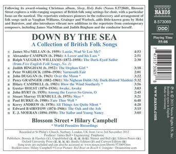 Down by the Sea. A Collection of British Folk Songs - CD Audio - 2