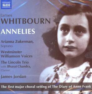 Annelies - CD Audio di James Whitbourn