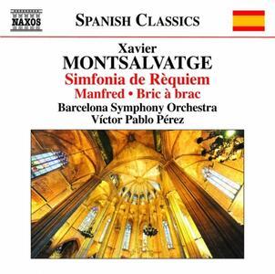 Sinfonia da Requiem - CD Audio di Xavier Montsalvadtge,Orchestra Sinfonica di Barcellona