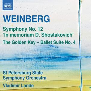 Opere orchestrali - CD Audio di Mieczyslaw Weinberg