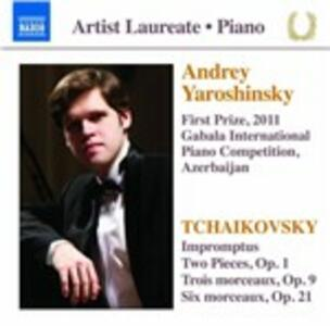 Impromptus-Two Pieces Op. - CD Audio di Pyotr Il'yich Tchaikovsky