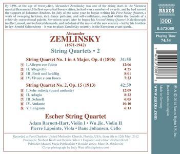 Quartetti per archi vol.2 - CD Audio di Alexander Von Zemlinsky - 2
