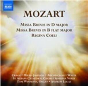 Missa Brevis K194 - Missa Brevis K275 - CD Audio di Wolfgang Amadeus Mozart
