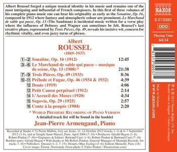 Musica per pianoforte completa vol.1 - CD Audio di Albert Roussel,Jean-Pierre Armengaud - 2