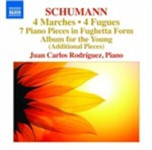 4 Marches - CD Audio di Robert Schumann