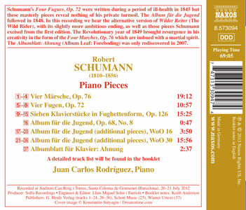 4 Marches - CD Audio di Robert Schumann - 2