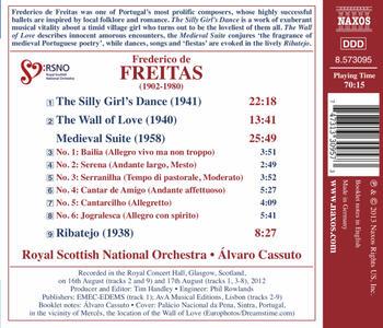 Dança da Menina Tonta - Muro Do Derrete - Suite Medieval - Ribatejo - CD Audio di Frederico de Freitas - 2