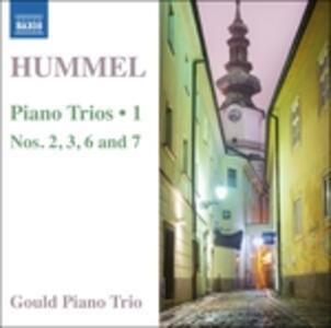 Trii per archi e pianoforte - CD Audio di Johann Nepomuk Hummel