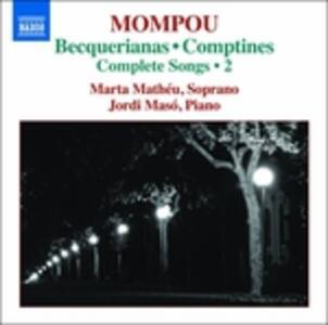 Liriche da Camera vol.2 - CD Audio di Frederic Mompou