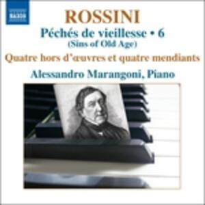 Opere per pianoforte vol.6 - CD Audio di Gioachino Rossini