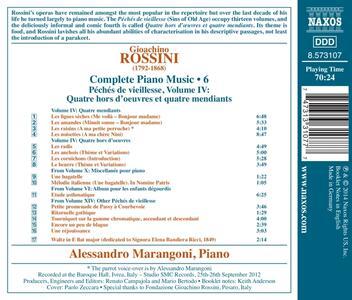 Opere per pianoforte vol.6 - CD Audio di Gioachino Rossini - 2